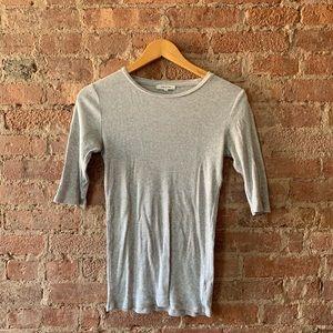 Aritzia Babaton Gray T-Shirt